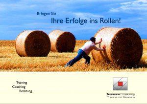 Tangram-Unternehmenspräsentation-Flyer